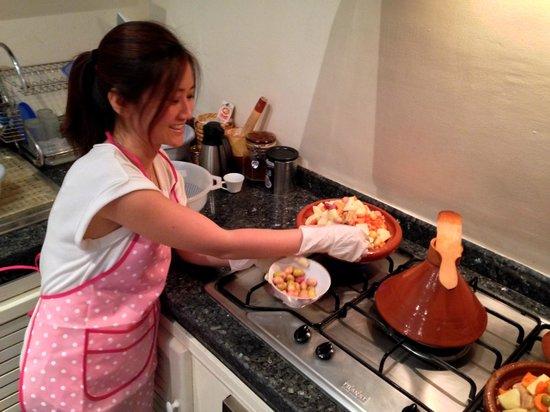 Riad D'ari: Cooking class