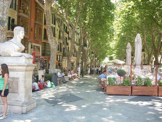 Passeig des Born: Street scene