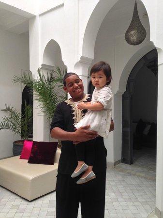 Riad D'ari : Photo with Khalid