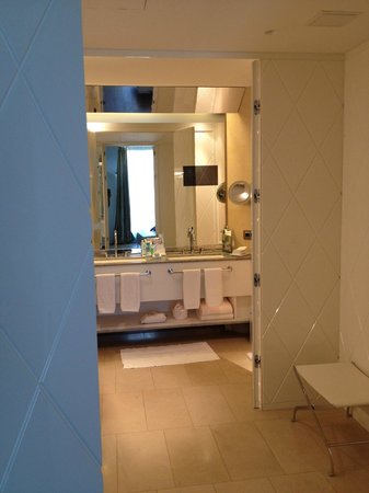 W St. Petersburg: T.V. in the bathroom