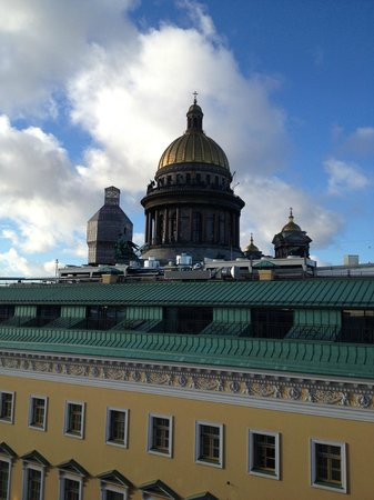 W St. Petersburg: The view from the Balcony