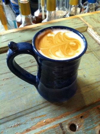 The Coffee Pot Bakery Cafe: Enjoy a Latte in our Handmade Pottery Mugs
