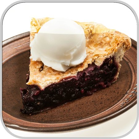 The Coffee Pot Bakery Cafe: Homemade Blueberry Pie A La Mode, Oh My!