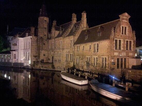 Crowne Plaza Brugge: a scene never to be forgotten..