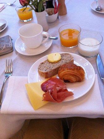 Hotel Julien: nuestro desayuno
