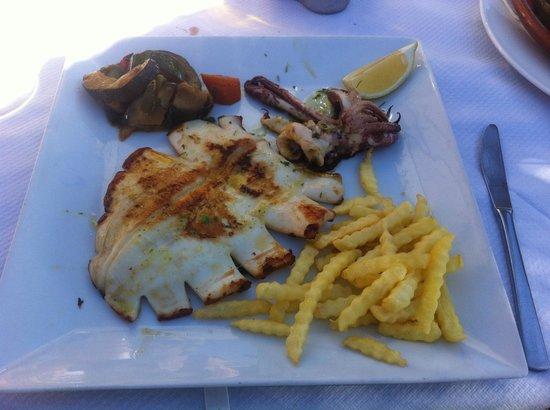 Restaurante Titoyayo: Calamar à la Plancha