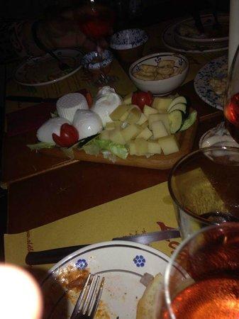La Uascezze: Quesos itailanos