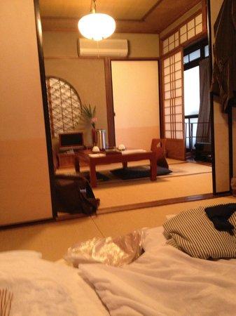 Inn Kawashima: chambre