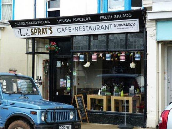 Jack Sprat's: Café Exterior