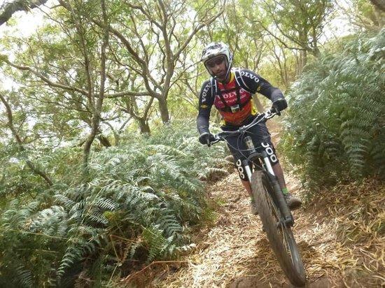 Coco Bike: Garder sa trajectoire ....