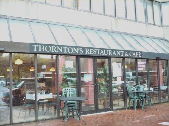 Thornton S Restaurant Boston Back Bay Restaurant