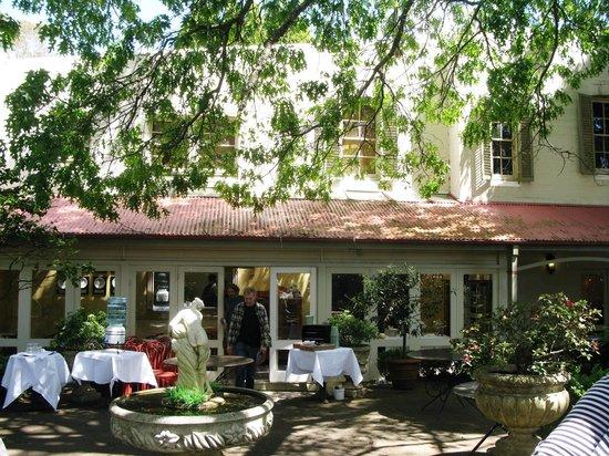 Bon Ton: The restaurant area