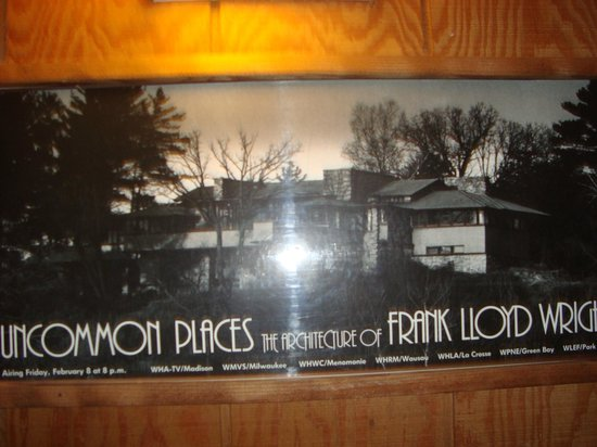 Round Barn Lodge : another FLW poster