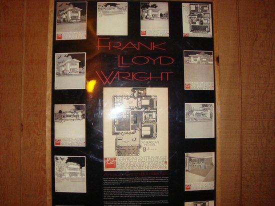 Round Barn Lodge: Frank Lloyd Wright poster