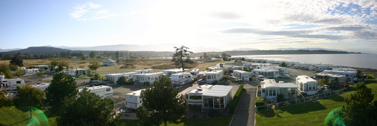 Surfside RV Resort: Looking to the West