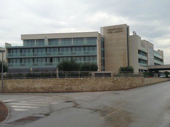 Kempinski Hotel Adriatic Istria Croatia: Hotel von Aussen