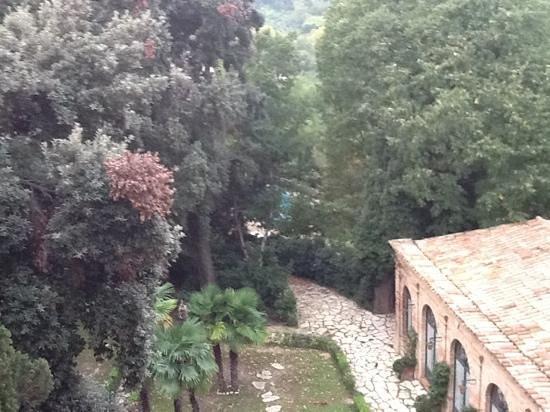 Relais Palazzo Viviani: veduta dalla finestra della camera 3