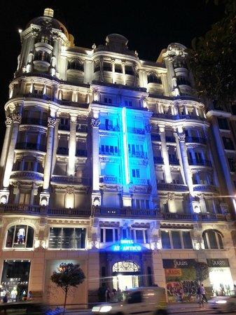 Hotel Atlantico: Hotel Atlântico, Madri.