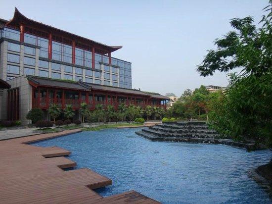 Shangri-La Hotel Guilin : Hotel ground