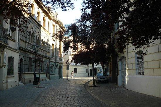 Hotel Plaza Londres: Localização é muito boa, em rua linda e histórica