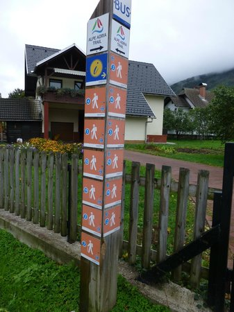 Ramada Hotel and Suites Kranjska Gora: Guide to footpaths around Kranjska Gora