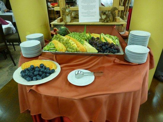 Ramada Hotel and Suites Kranjska Gora: Fruit selection