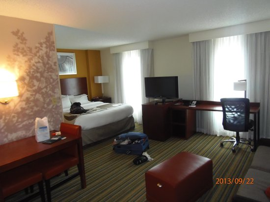 Residence Inn Arlington Pentagon City : suite piso 17