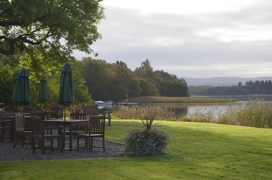 The Lake of Menteith Hotel: View from the hotel