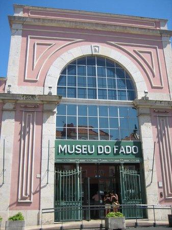 Museu do Fado / Fado Museum: Front of museum