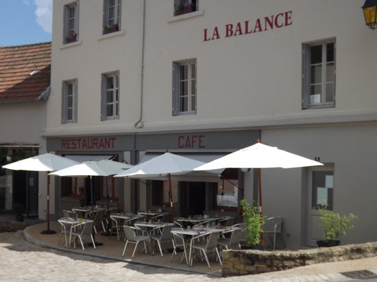 Charolles, France: restaurant la balance
