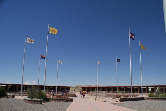Four Corners Monument: View of the 4 States Plaza