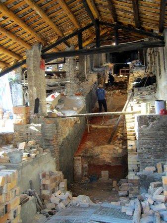 Nanfeng Ancient Kiln: Kiln inside