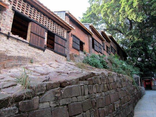 Nanfeng Ancient Kiln: Kiln outside (bulit on a hill)
