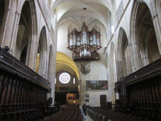 Cathédrale Saint-Étienne : Orgel