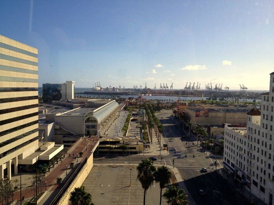 Renaissance Long Beach Hotel : view from the 11th floor