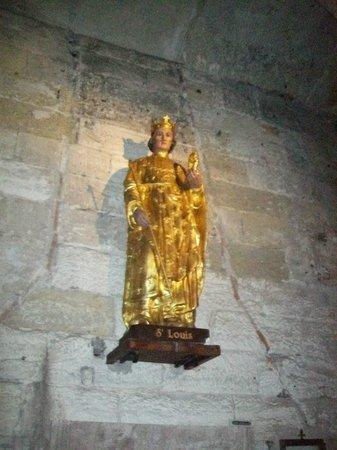 Eglise Notre-Dame des Sablons: Eglise  Notre Dame: statua di Saint Louis