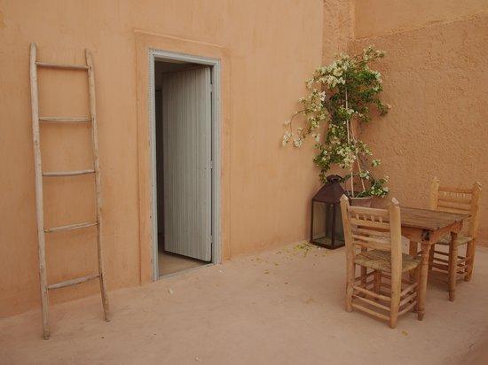 Le Riad Berbère: La terrasse