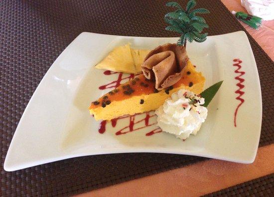 La Belle Chaudiere : Mousse passion crème chantilly