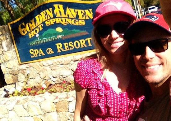 Golden Haven Hot Springs Spa: Rali & Steph