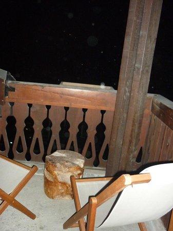 Mercure Chamonix Centre Hotel : balcon