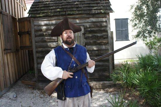 Colonial Quarter: Great Tour Guide!!!