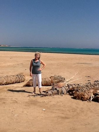 Baron Resort Sharm El Sheikh : turn left out the back of hotel..walk 5 minutes & you find this!