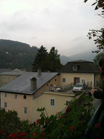 Stieglkeller: Another view from atop the Beer Garden at Stiegl Keller