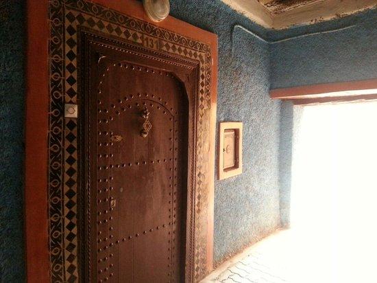 Riad Naya: Front door, hard to find