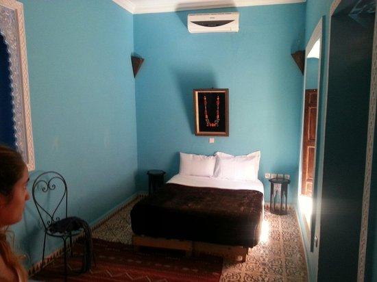 Riad Naya: First floor room (better room)