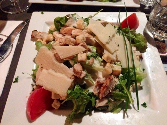 Salade caesar picture of au bureau salon de provence tripadvisor