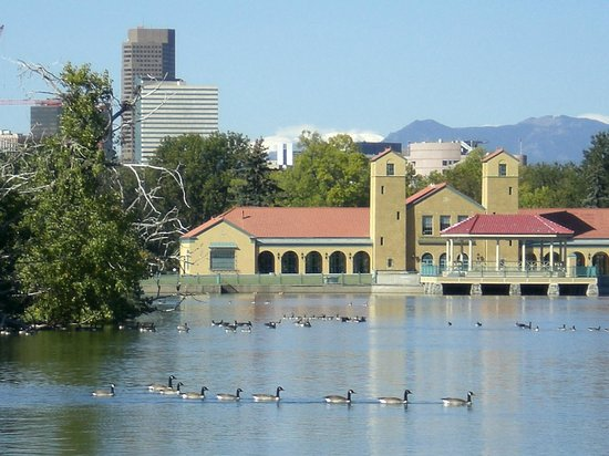 Denver Museum of Nature & Science: View across the Museum (City Park)