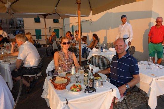 Angedras Restaurant: Terras