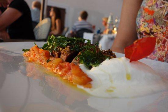 Angedras Restaurant: Tonijn als hoofdgerecht