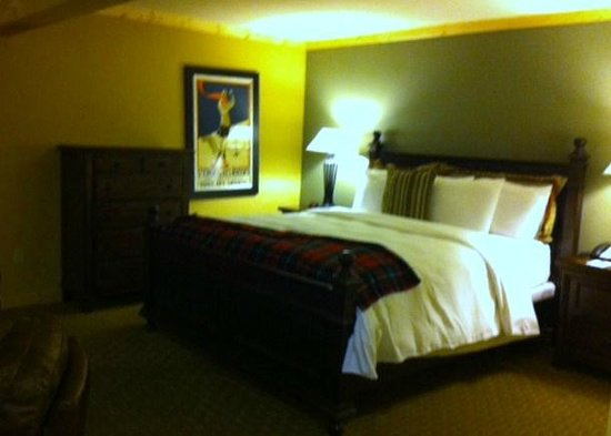 Sierra Nevada Resort & Spa: Comfy bed